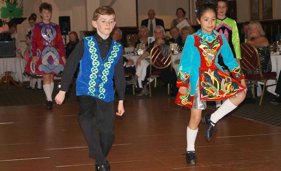 children irish dancing in Norfolk